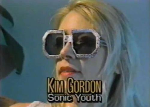 Kim Gordon.